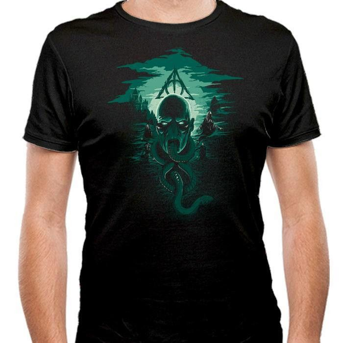Deadly Moon - Men's Fitted T-Shirt