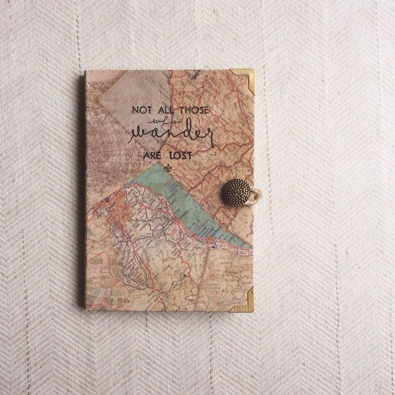 Wanderer map journal old world map soft cover travel journal on wanderer map journal old world map soft cover travel journal on etsy 2900 gumiabroncs Choice Image