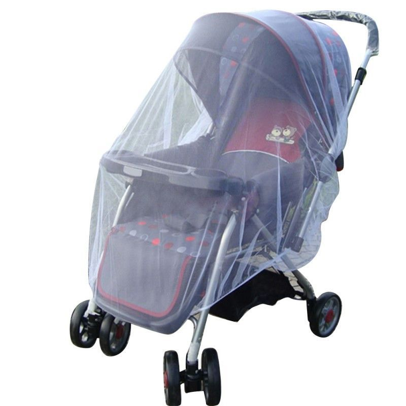 Stroller Pushchair Pram Mosquito Fly Insect Net Mesh Buggy Cover Kid Baby Infant