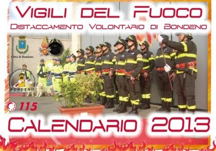 Calendario Vvf.Dodici Mesi Con I Vvf Volontari Di Bondeno Il Calendario