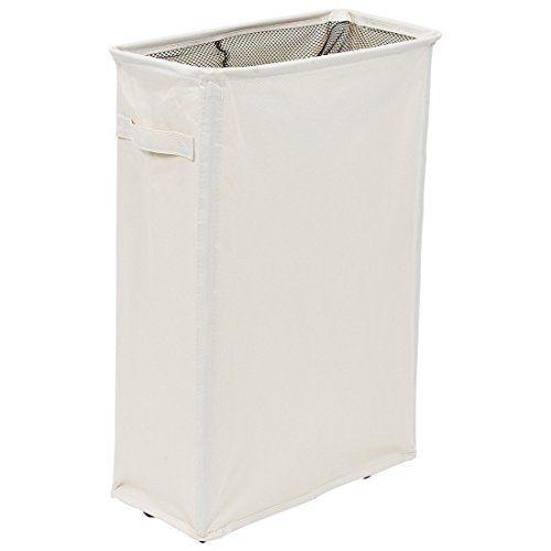 Homiak Slim Laundry Hamper With Wheels For Clothes Storag