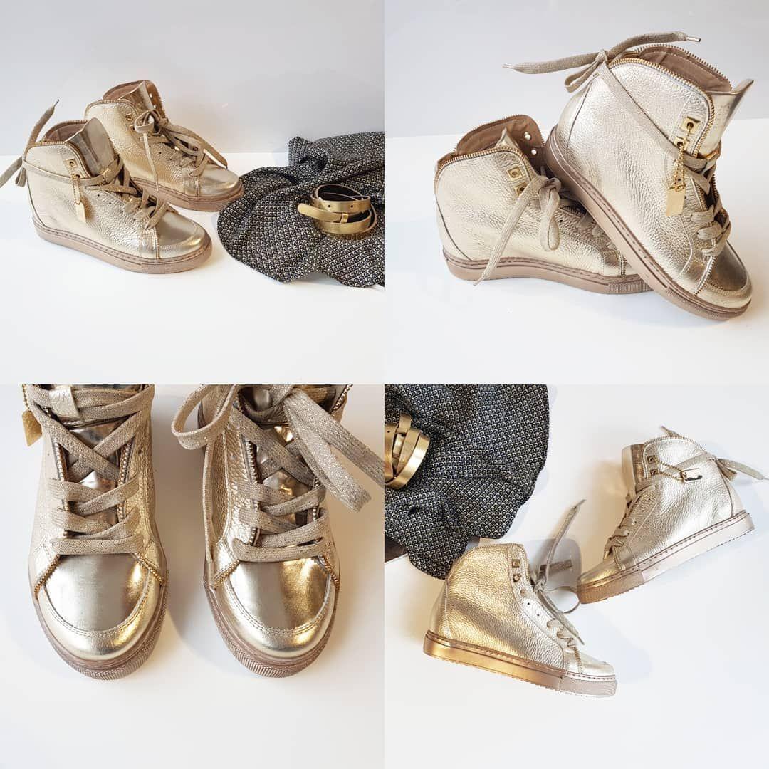 Zlote Sneakersy Z Nowej Kolekcji Marki Badura Badurapl Sneakersy Gold Shoes Forher Fashion Style Moda Musthaves Wedding Sneaker Wedding Shoe Shoes