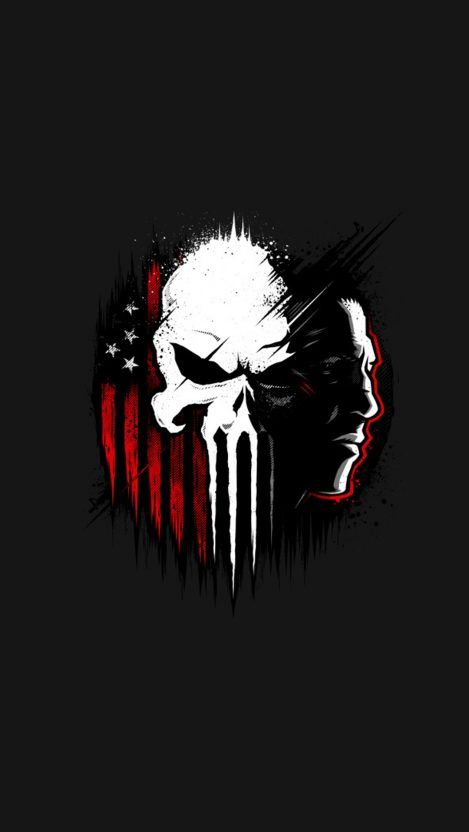Punisher Iphone Wallpaper Iphone Wallpapers In 2019 Pinterest