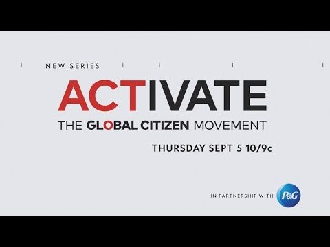 ACTIVATE is a six-part National Geographic documentary series about Global Citizen's efforts to eradicate extreme poverty by 2030.