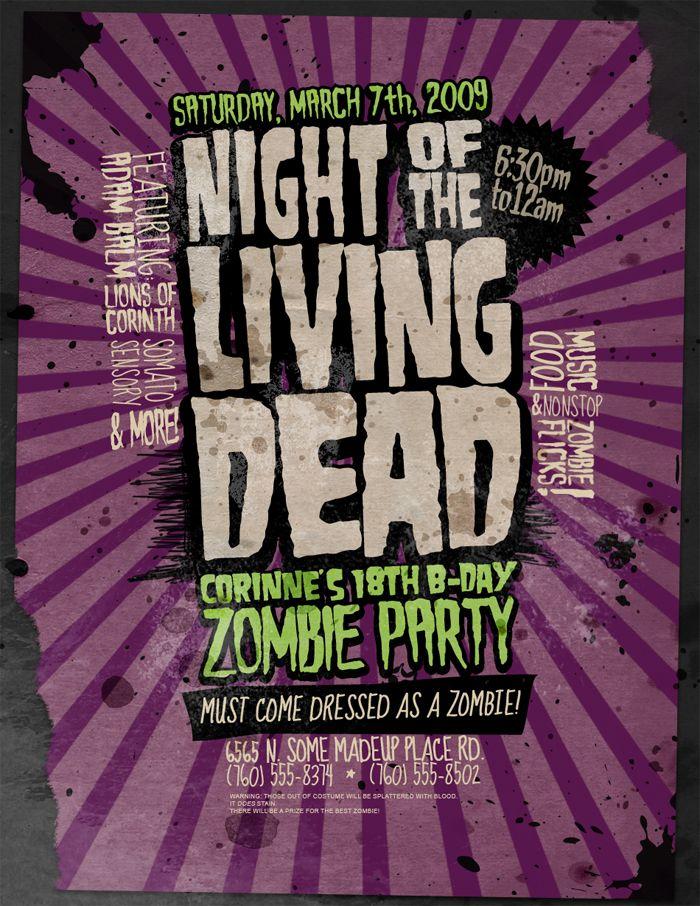 flyer-illustration-design-inspiration-design-graphics-002 - zombie flyer template