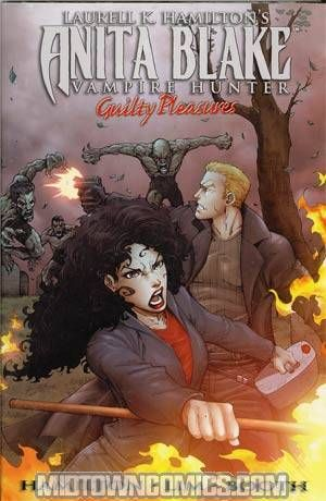 Midtown Comics' 12/30/14 #Deal of the Day: Laurell K Hamiltons Anita Blake Vampire Hunter Guilty Pleasures Vol 2 HC Direct Market Edition for 60% OFF!