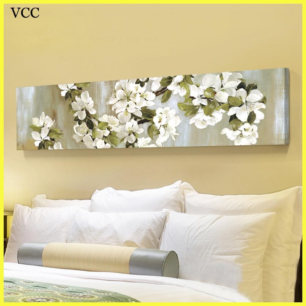 VCC Canvas Art Apple Flowers Picture,Wall Pictures For Bedroom ...