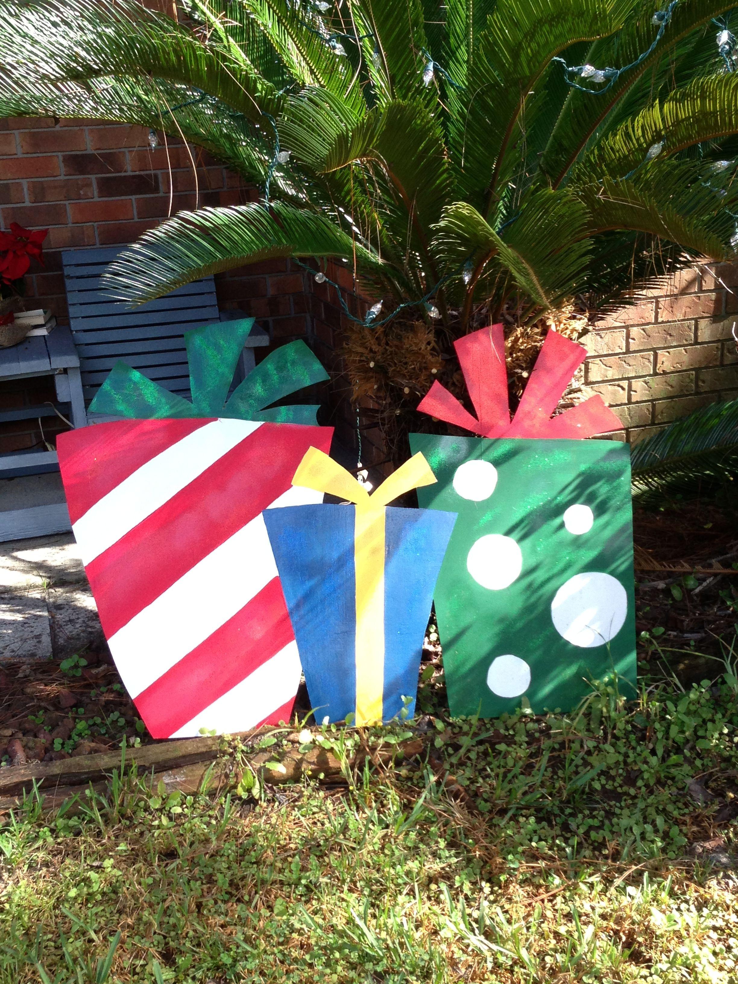 Wooden yard ornament | Yard ornaments, Christmas gifts, Crafty