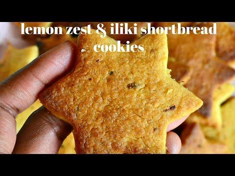 LEMON ZEST & ILIKI SHORT BREAD COOKIES | KALUHI'S KITCHEN #shortbreadcookies LEMON ZEST & ILIKI SHORT BREAD COOKIES | KALUHI'S KITCHEN - YouTube