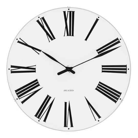 A.J. Roman Clock väggklocka, Arne Jacobsen, Arne Jacobsen