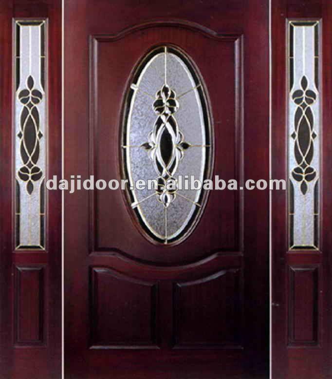 Puertas modernas exteriores hierro madera y crital for Puertas de madera con vidrio para exterior