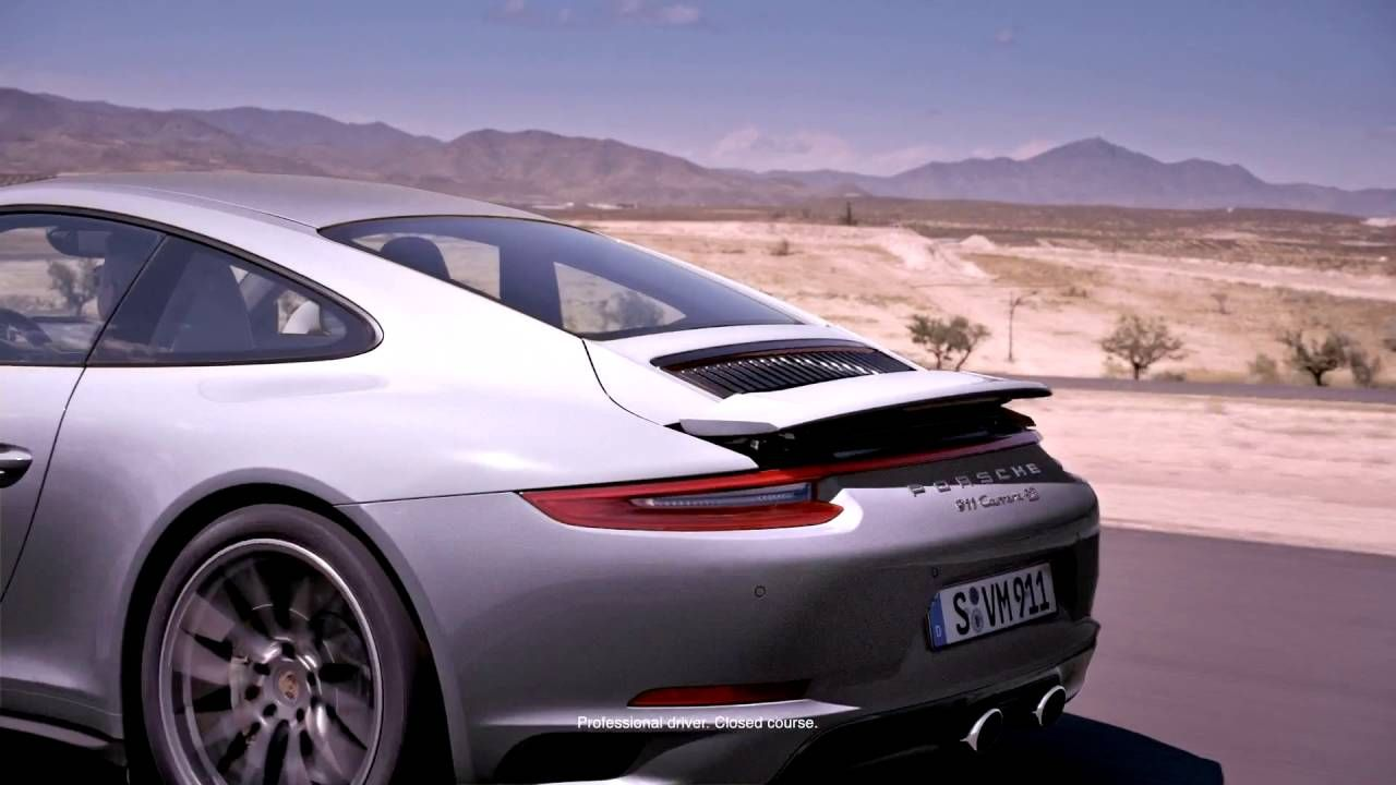 The new Porsche 911   Active Aerodynamics