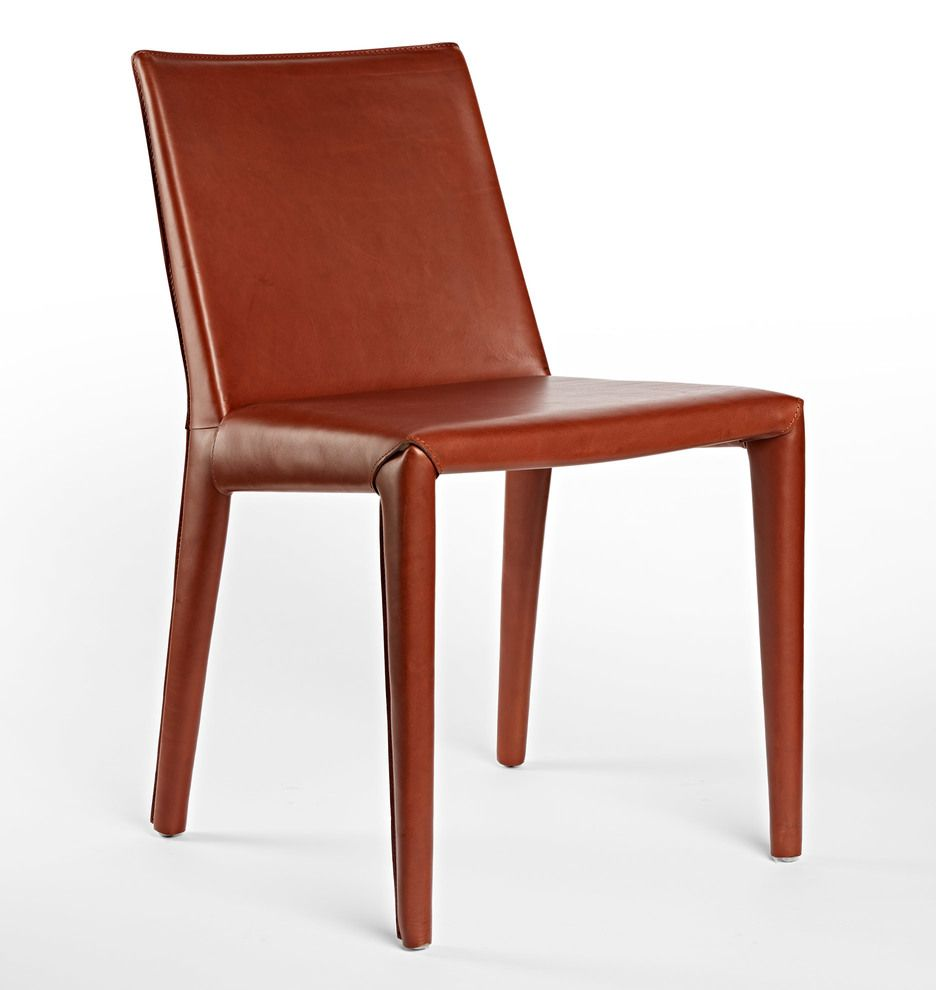 Huber Italian Leather Chair D6065 Leather Chair Red Leather Chair Leather Dining Chairs