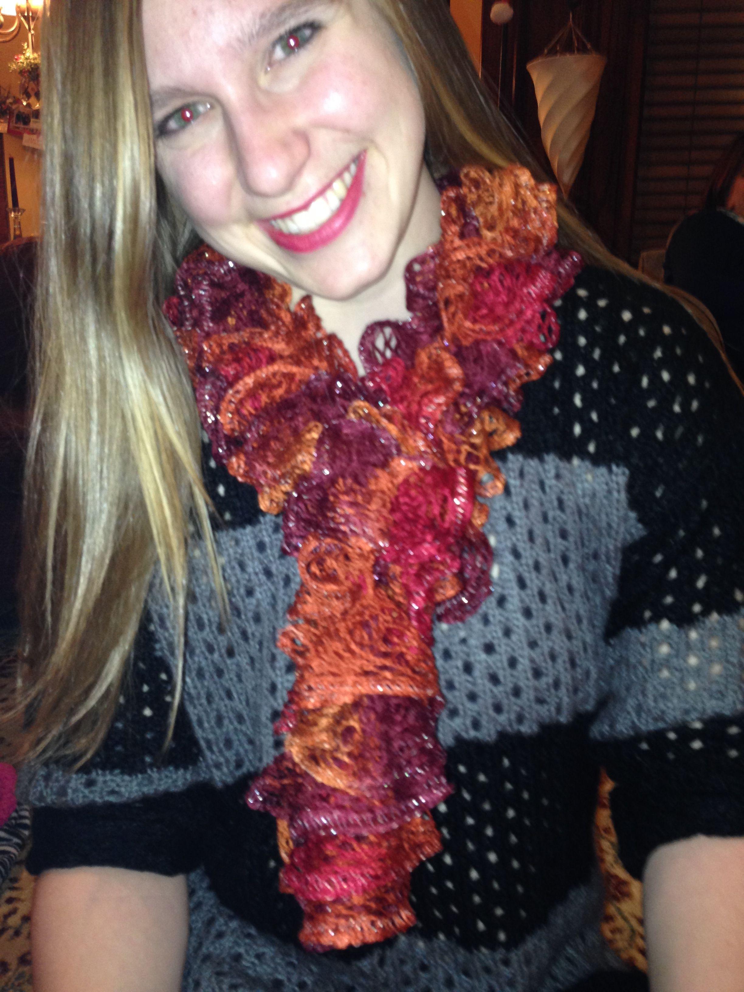 Sashay yarn scarf | My Creations | Pinterest