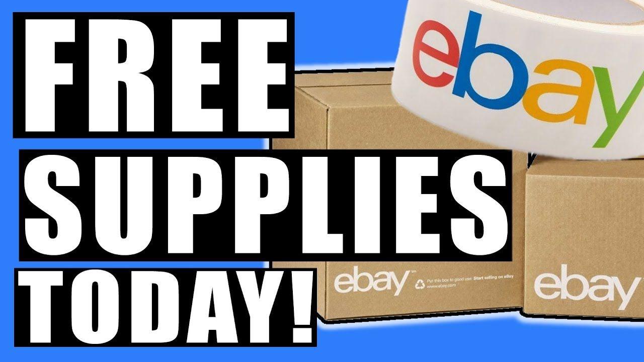How To Get Free Ebay Shipping Supplies Now Making Money On Ebay Ebay Ebay Business