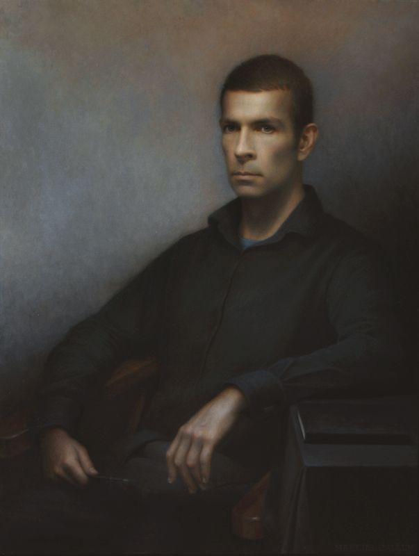 Marcus Callum: Self-portrait :: Archibald Prize 2012 :: :: Art Gallery NSW