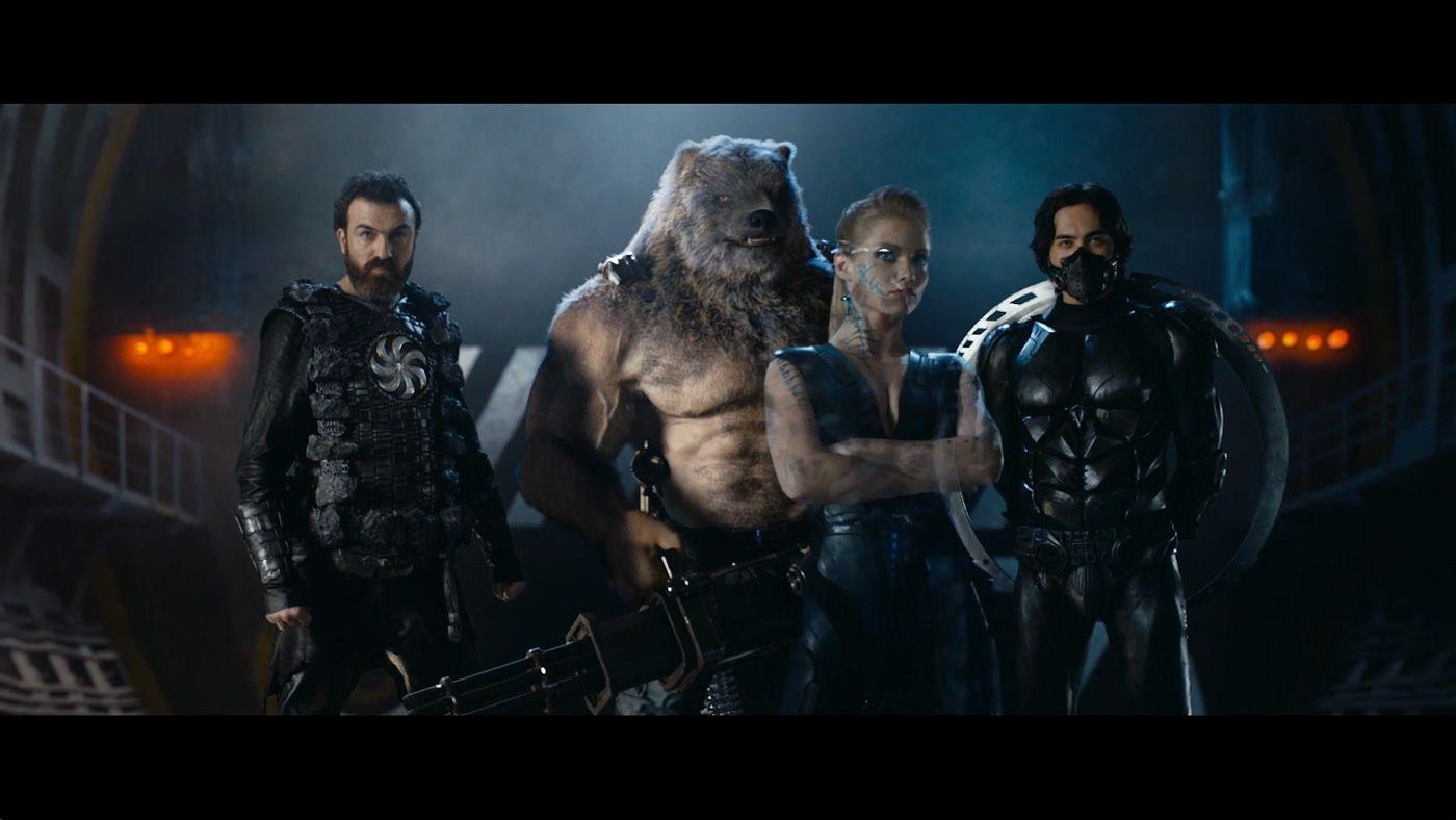 GUARDIANS (Zashchitniki) Superhelden, Superhelden filme