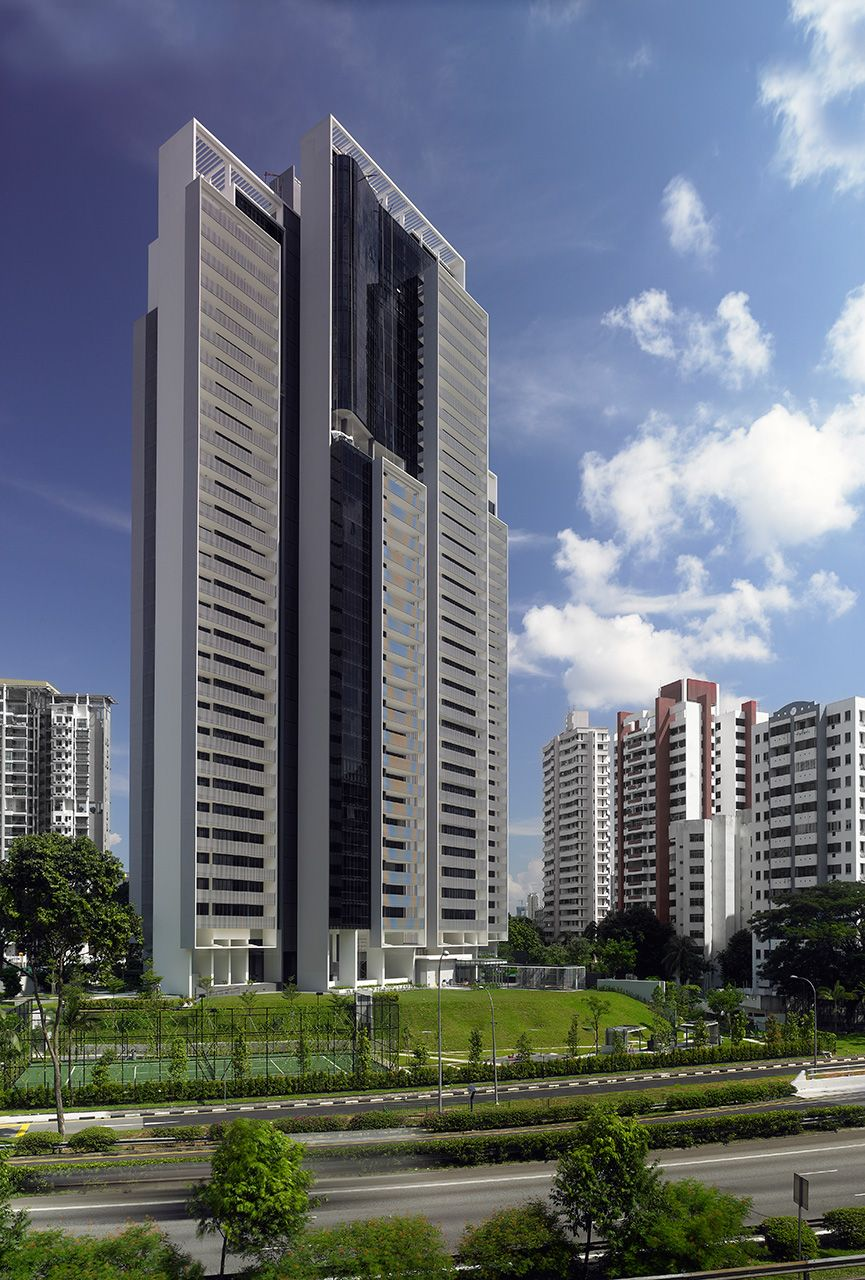 The Arte in Singapore by SCDA Architects   Skyscrapers   Pinterest ...