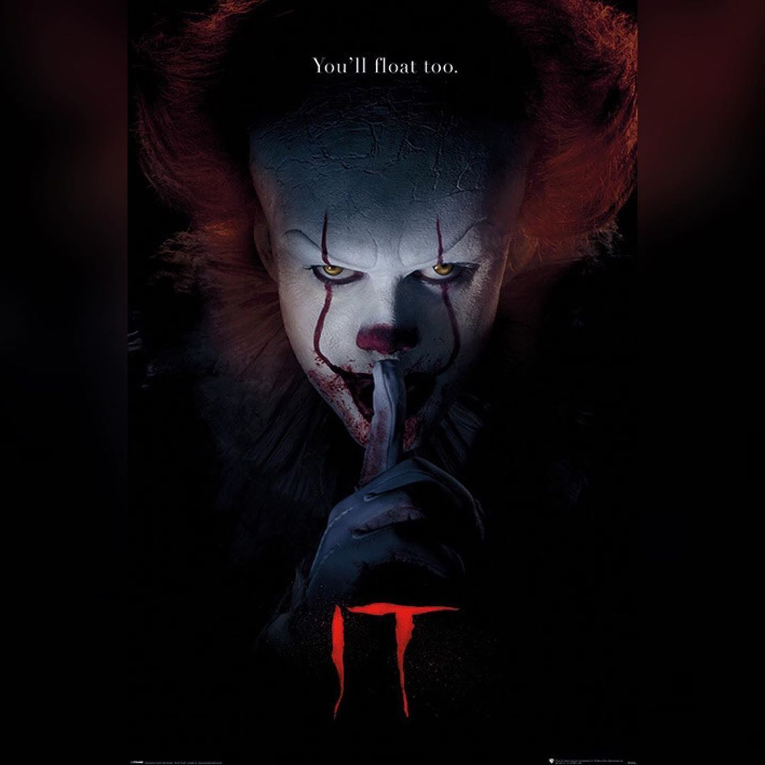 It Chapter 2 Is Set To Release A Trailer This Thursday I Was A Fan Of What They Did With The First It Ch Pennywise The Clown Pennywise Poster Halloween Poster