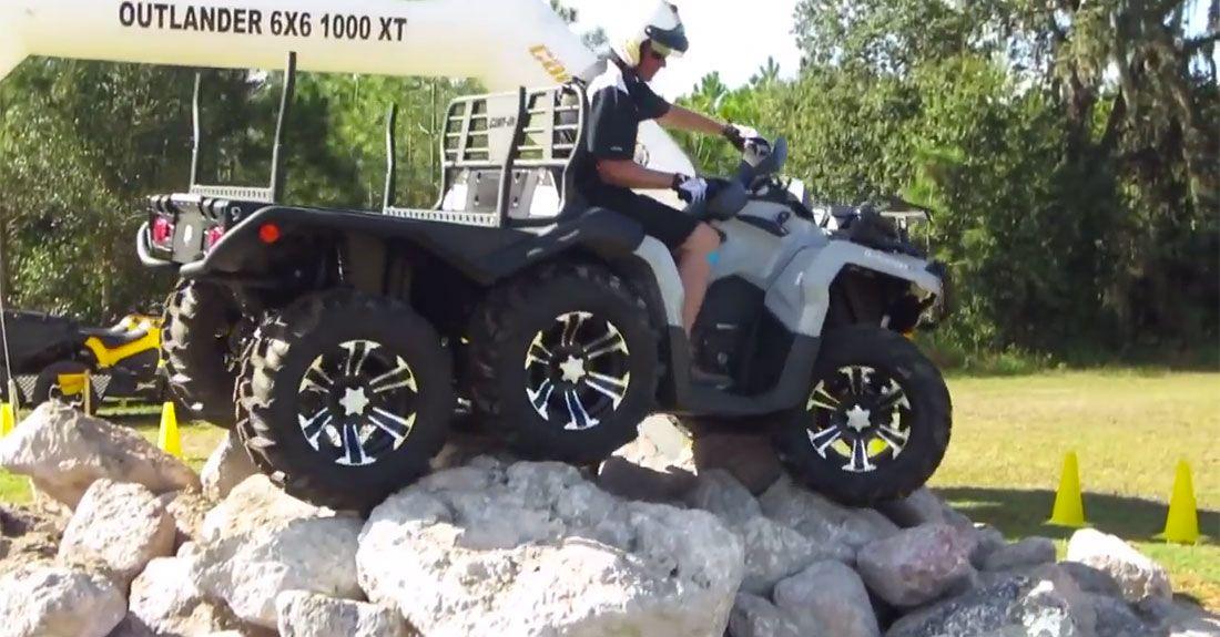 quad can am 1000 6x6