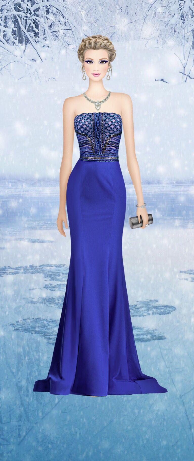 Ice Queen | Covet fashion - vestidos largos | Pinterest | Covet ...