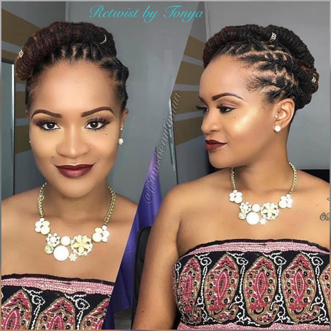 Wedding Hairstyles Dreadlocks: #retwistbytonya #retwist #interlocking #browardhairstylist
