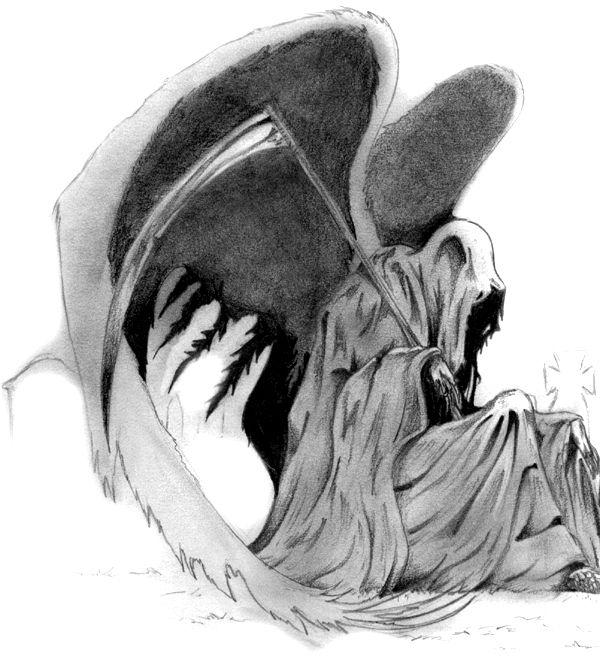 Drawings Grim Reaper Drawings Reaper Drawing Grim Reaper