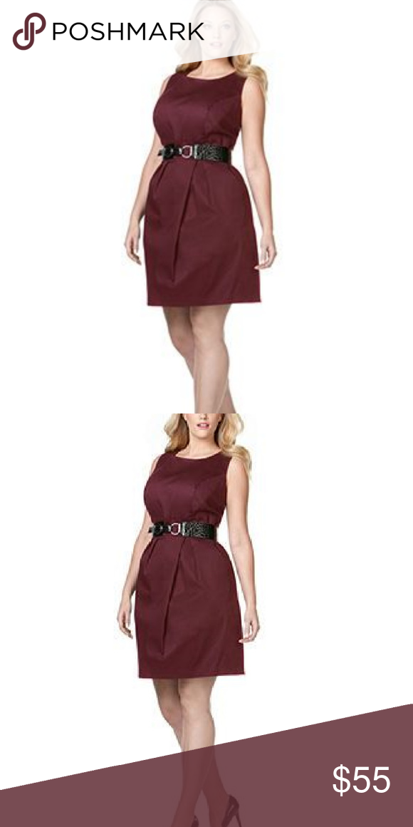 405a8b48e80 I just added this listing on Poshmark  AGB Women s Sheath Dress Burgundy Plus  Size 24W.  shopmycloset  poshmark  fashion  shopping  style  forsale  AGB  ...