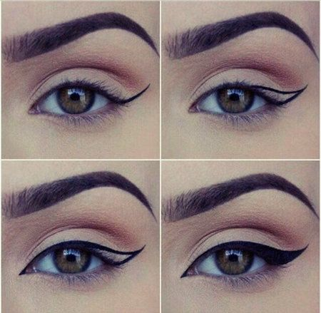 How to apply eyeliner Makeup Pinterest Alas, Delineado de ojos - Tipos De Cejas