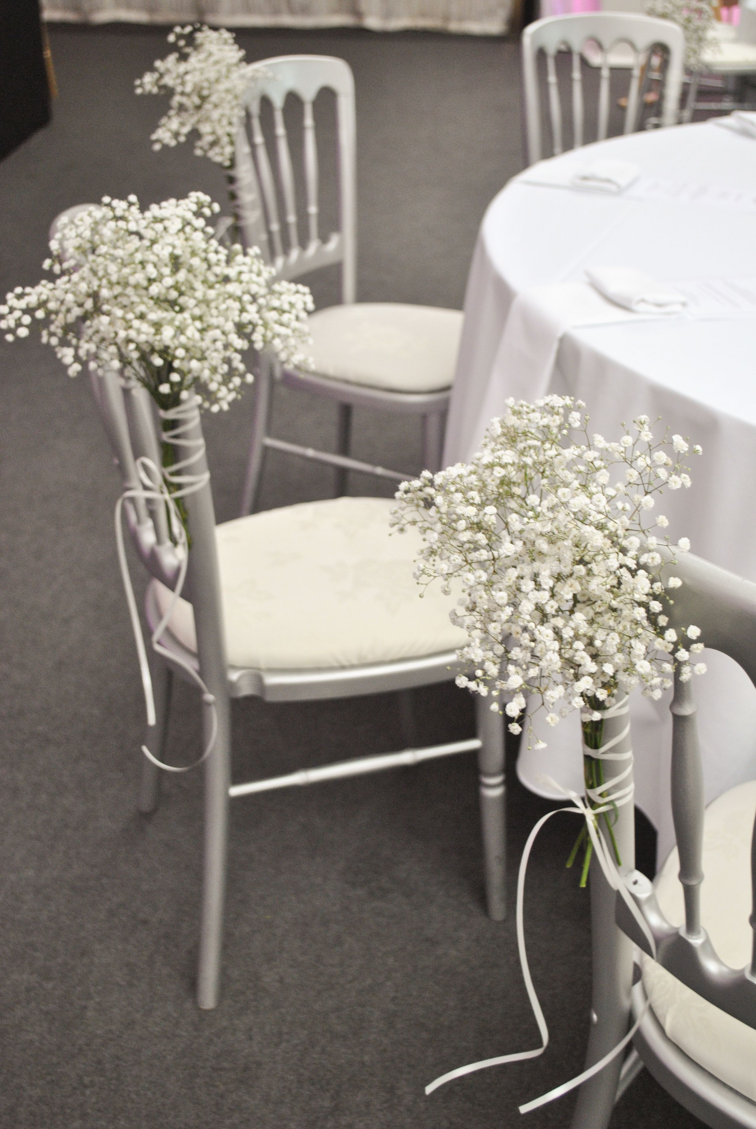wedding chair decorations decorations for weddings wedding chairs