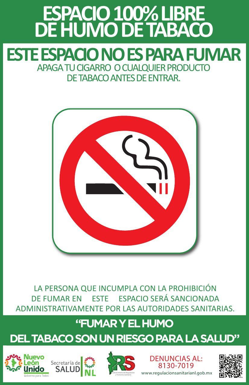 Humo De Tabaco Subsecretar 237 A De Regulaci 243 N Y Fomento