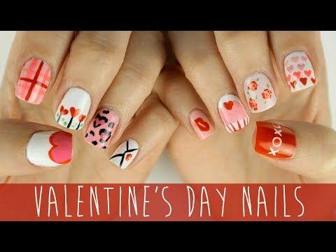 nail art per san valentino #nailart  #sanvalentino
