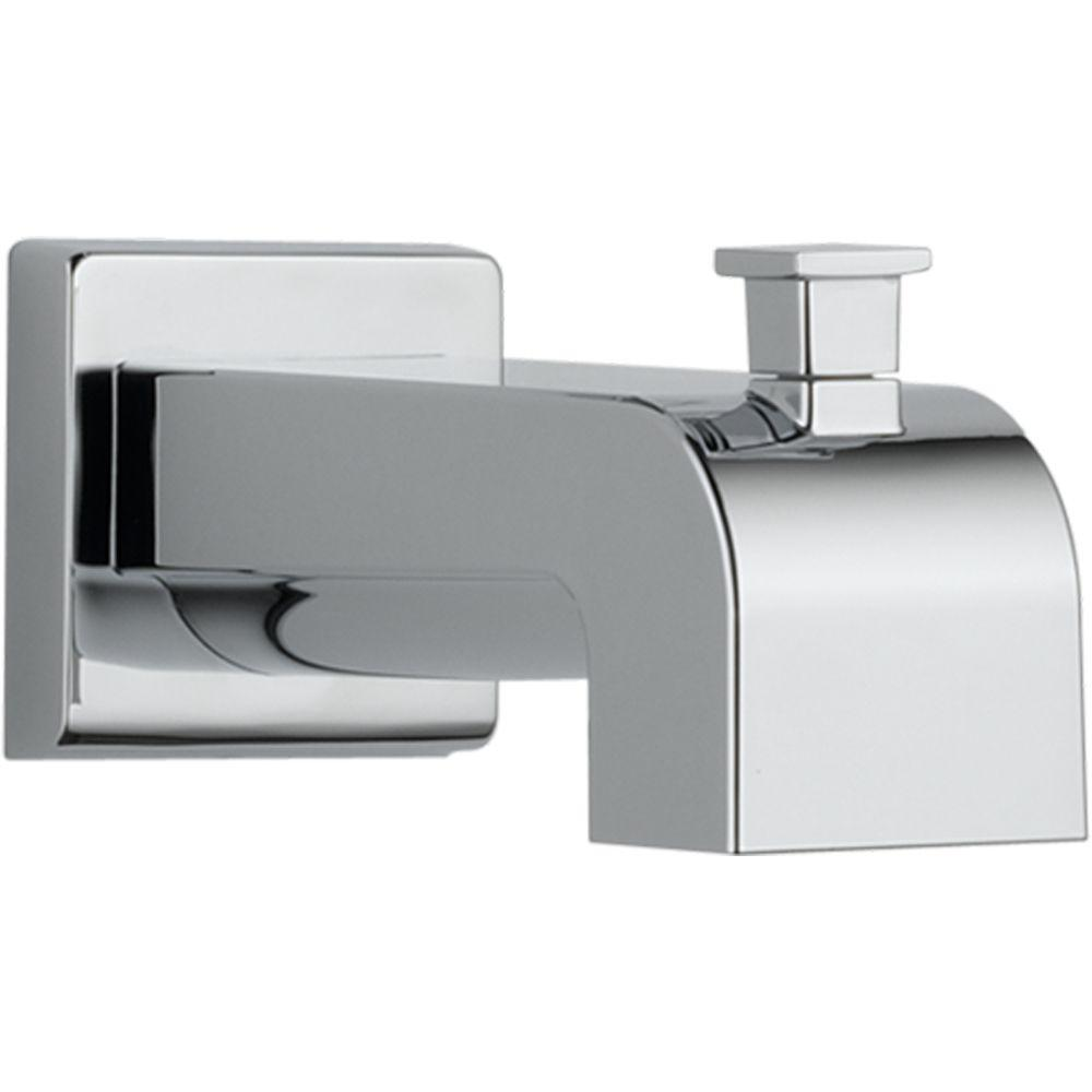 Delta Arzo And Vero 7 1 8 In Pull Up Diverter Tub Spout In Chrome Rp53419 Delta Faucets Faucet Tub