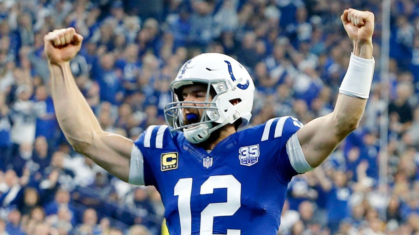 2019 Pro Bowl snubs  Andrew Luck Alvin Kamara among notable omissions - USA  TODAY 2019 0318c93cd