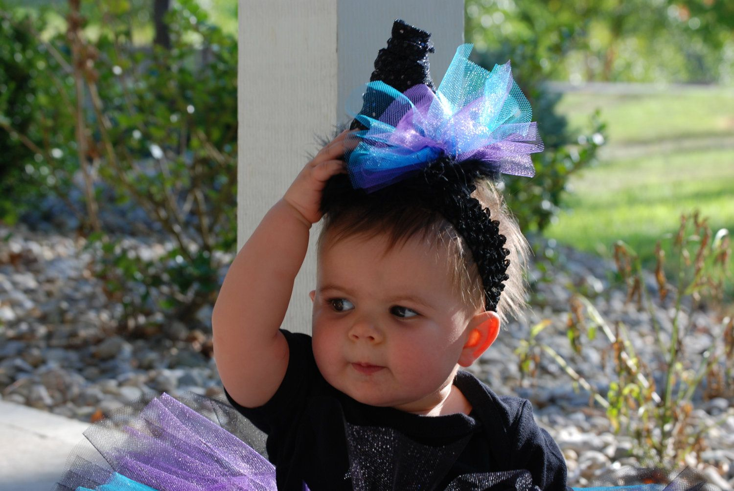 Tutus: Halloween baby witch costume for your