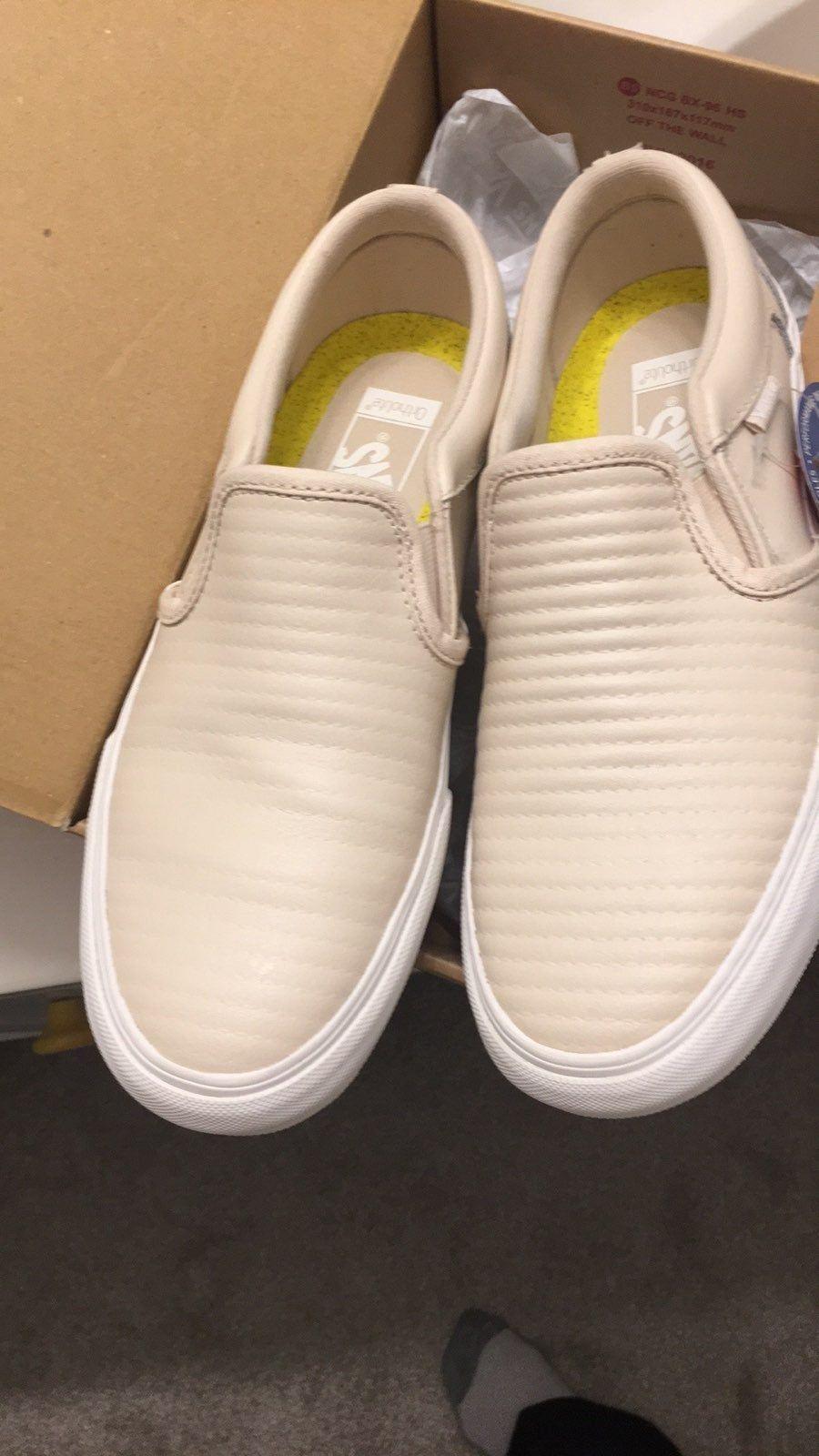 Vans ortholite slip On sneakers cream