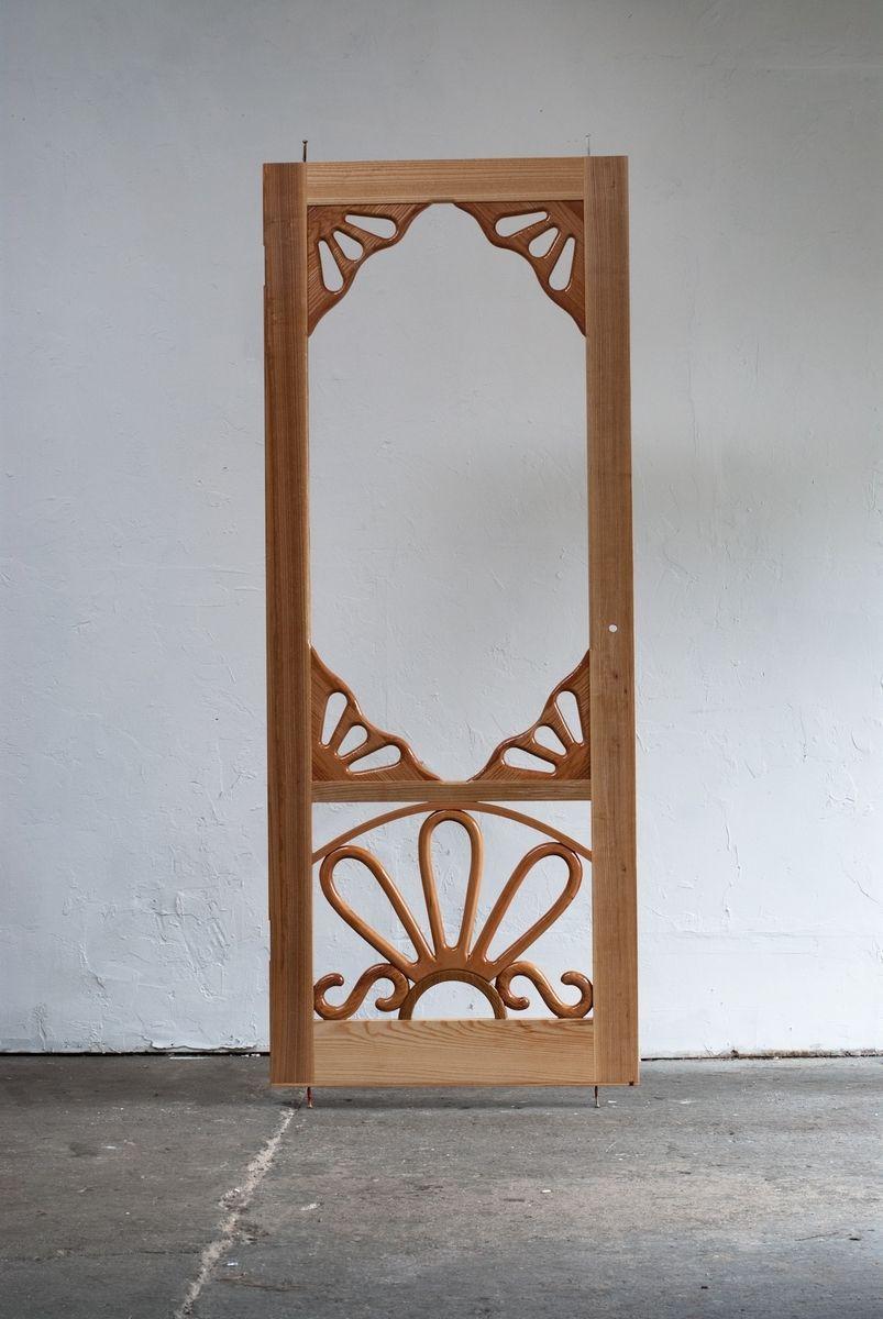 front door screensHandmade Custom Wooden Screen Door by Creative Openings