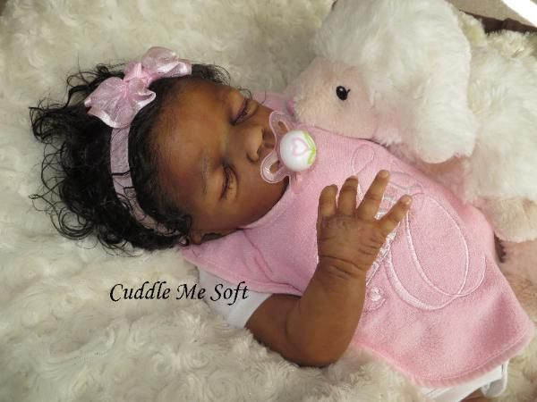 Realistic Newborn Reborn Baby Girl For Sale Ooak Baby