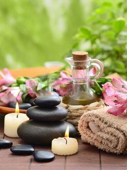 Stock photo en 2019 spa decoraci n imagenes de spa - Decoracion zen spa ...