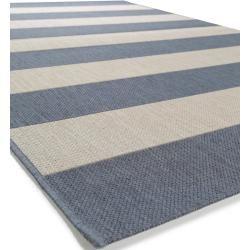 benuta Plus In- & Outdoor-Teppich Metro Blau 200x290 cm - für Balkon, Terrasse & Gartenbenuta.de #balkongestalten