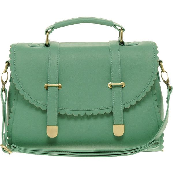 Asos Scallop Detail Satchel Bag