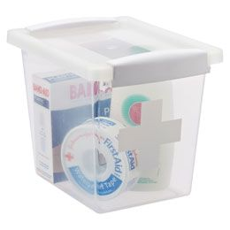 The Container Store First Aid Box Medication Storage Container Store Car Trunk Organization