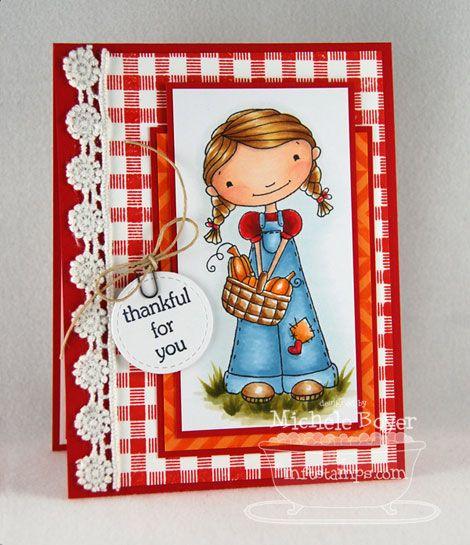 Doodle Garden Happy Harvest; Textile Backgrounds; Blueprints 1 Die-namics - Michele Boyer