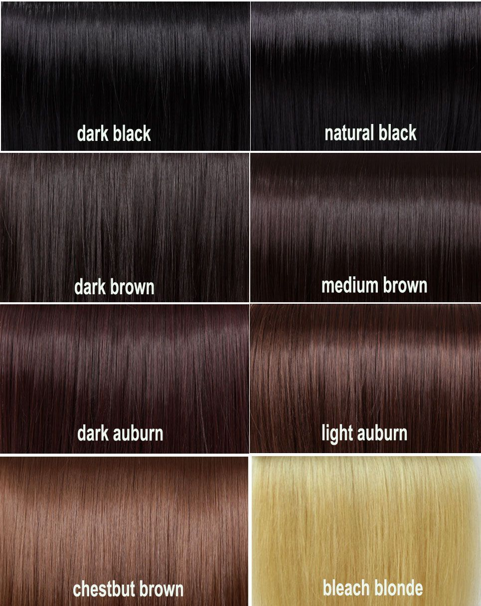 Dark auburn hair color chart best natural hair color products
