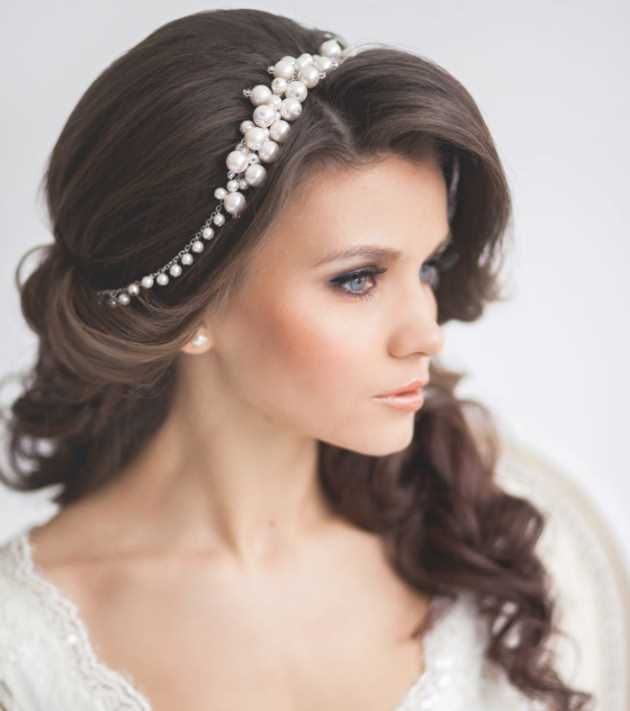 Pin Von Annele Jacobs Auf Wedding Hair Make Up Haarband Frisur