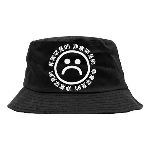 11c291a48c319 SAD BOYS BLACK BUCKET HAT
