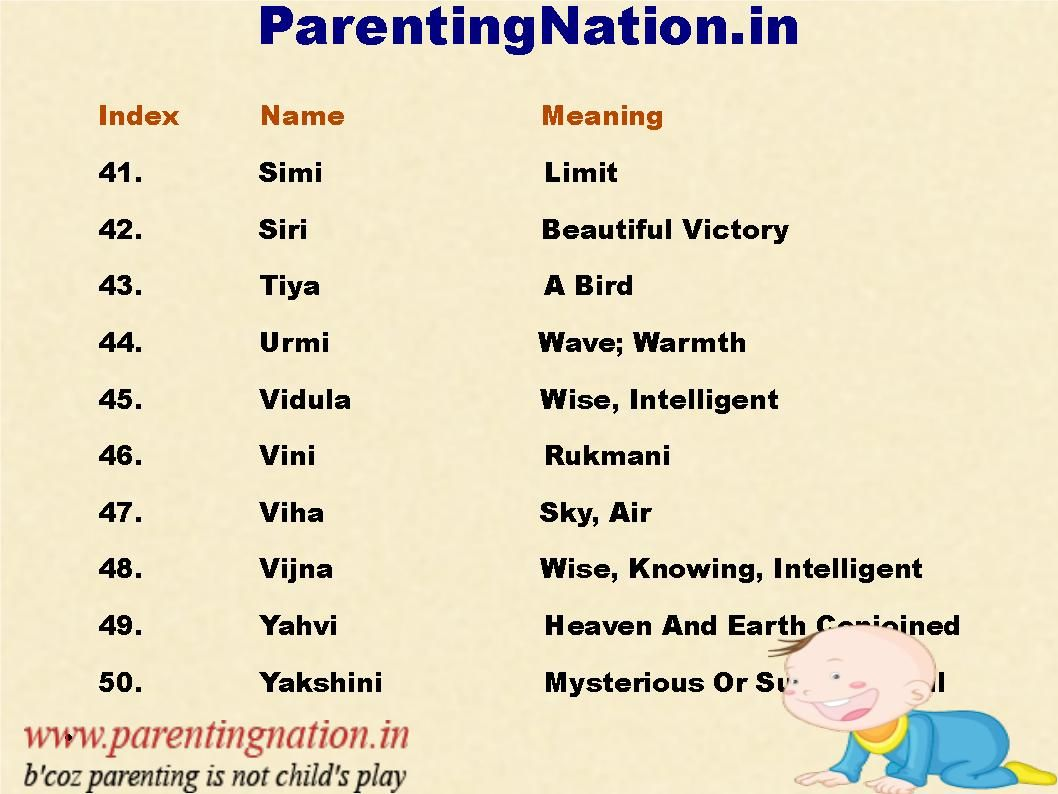 The ultimate collection of cute baby girl names with meaning brought to you by parentingnation in