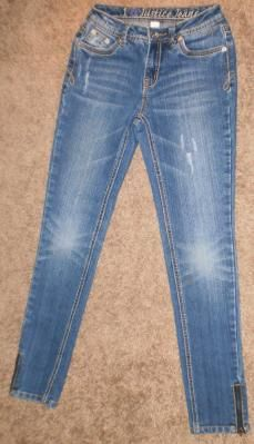 $9.99 Justice Jeans for Pre-teen Tween Girls Size 12 S Simply Low