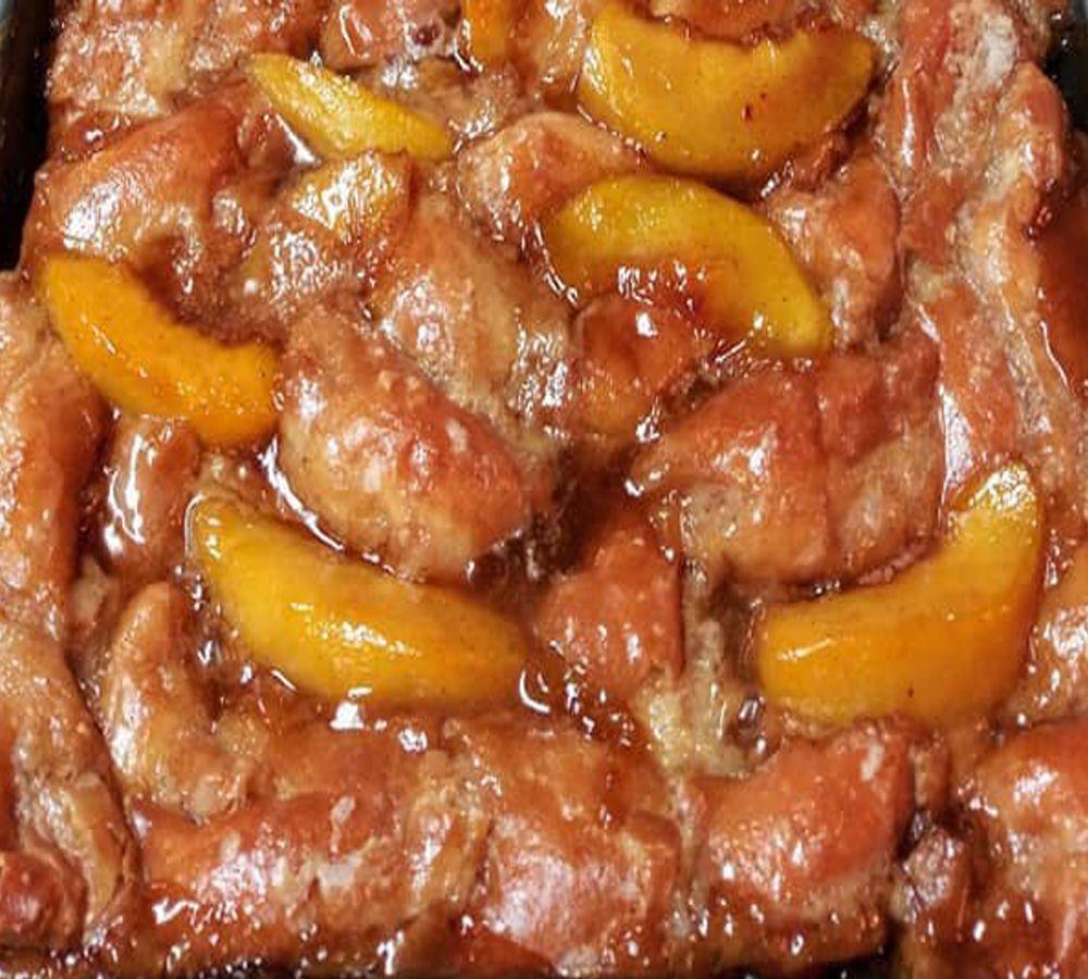 Krispy Kreme Peach Cobbler Recipe   superfashion.us
