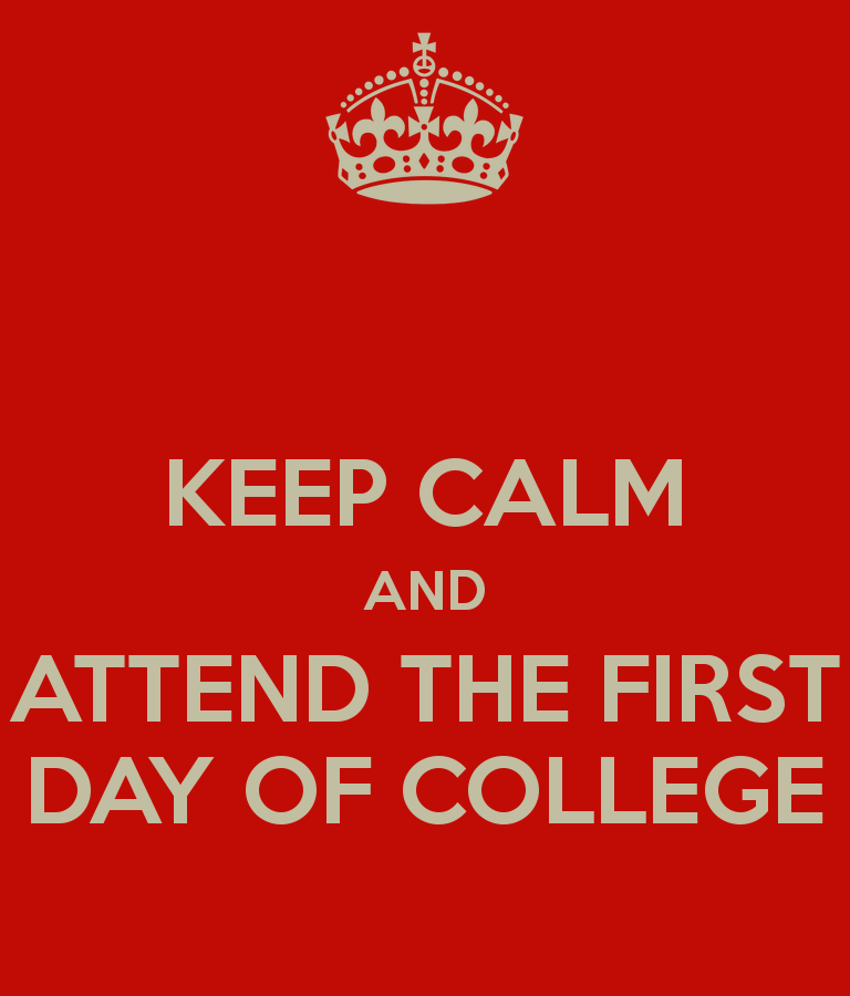 welcome back tafe teachers and students just for fun attend the first day of college